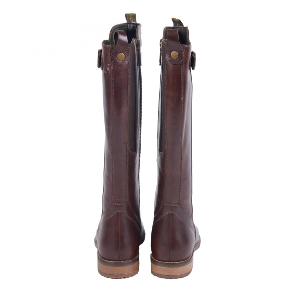Barbour Womens Rebecca Boot With Top Pull Tabs Wine