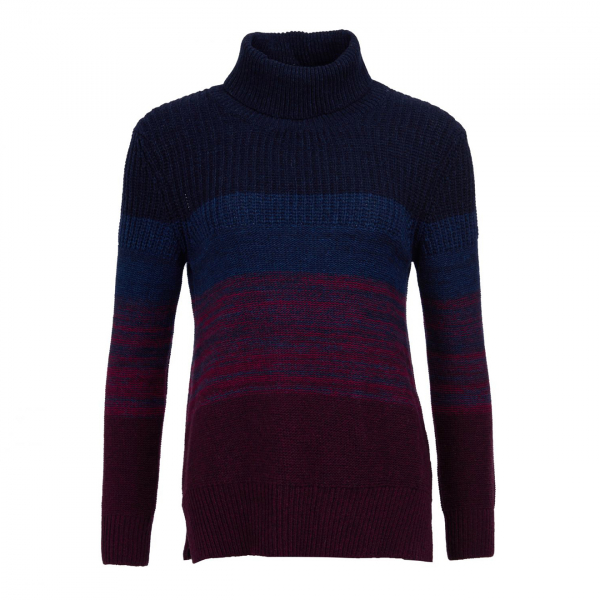 Barbour Womens Sternway Knit Bordeaux
