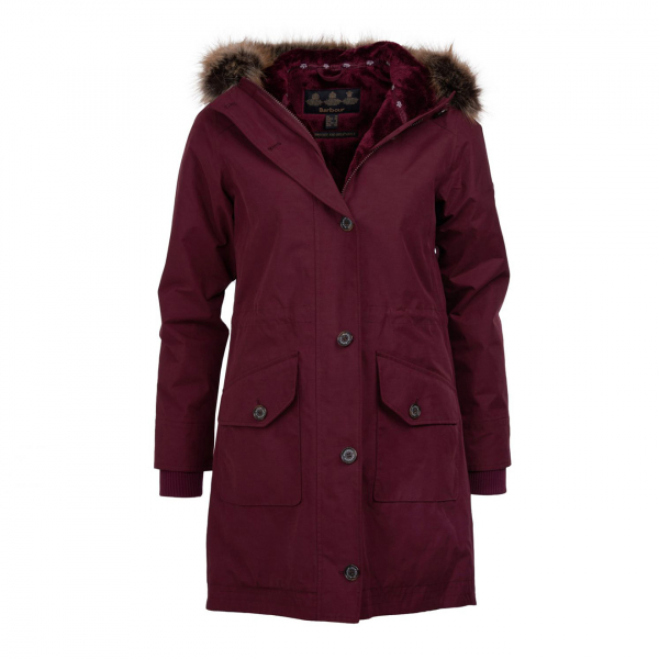 Barbour Womens Tellin Jacket Bordeaux