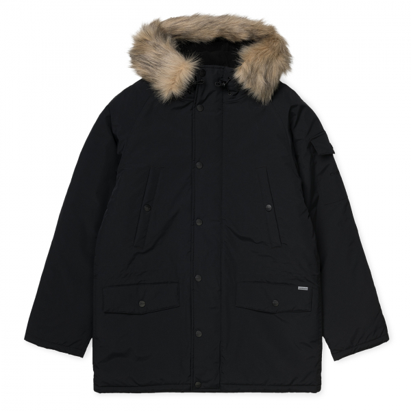 Carhartt Anchorage Parka Jacket Black / Black