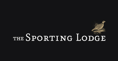The Sporting Lodge Black Brand Logo