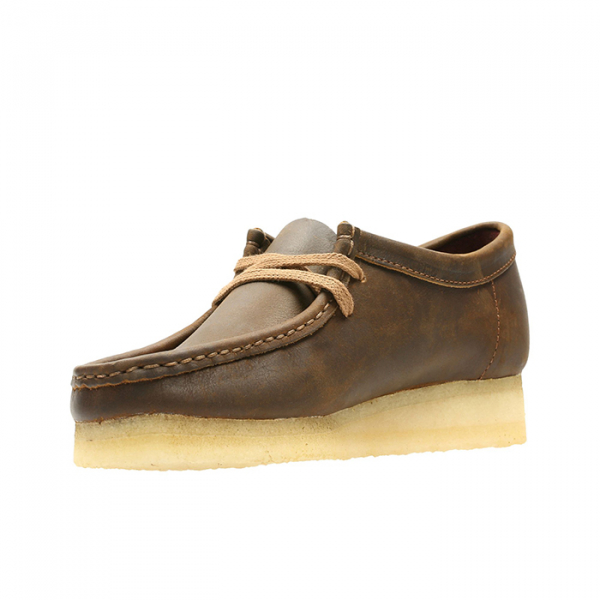 Clarks Originals Wallabee Shoes Beeswax Leather