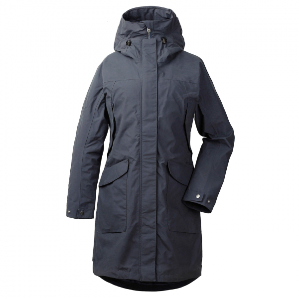 Didriksons Agnes Womens Coat 3 Navy Dust