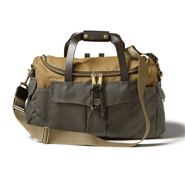 Filson Heritage Sportsman bag Tan / Otter Green