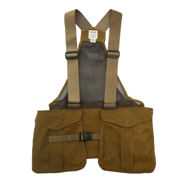 Filson Mesh Game Bag Vest Dark Tan