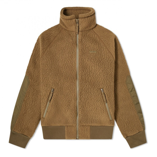 Filson Sherpa Fleece Jacket Marsh Olive