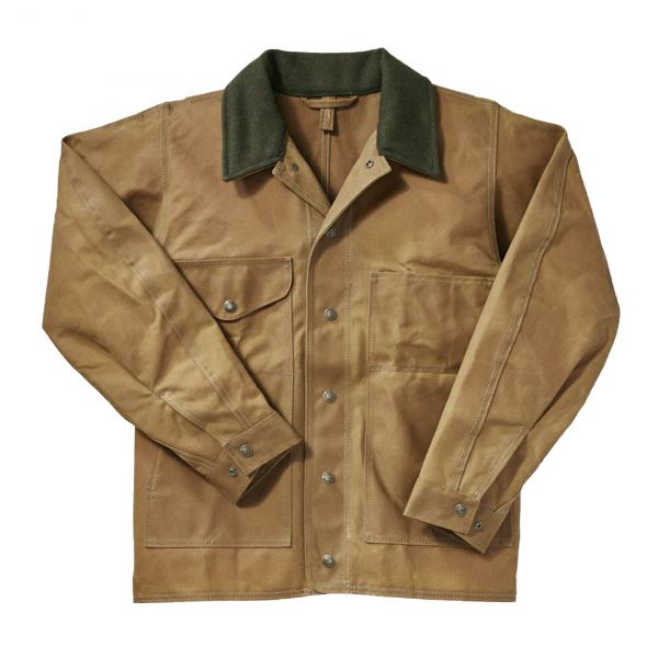 Filson Tin Cloth Jacket Dark Tan