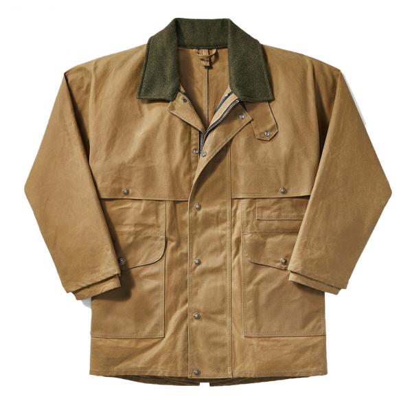 Filson Tin Packer Coat Dark Tan