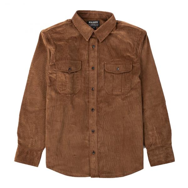 Filson 11-Wale Corduroy Shirt Brown