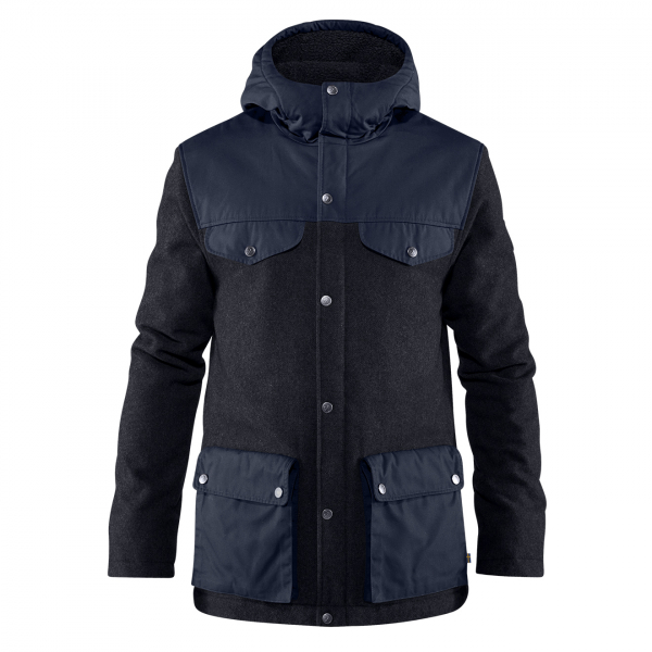 Fjallraven Greenland Re-Wool Jacket Night Sky