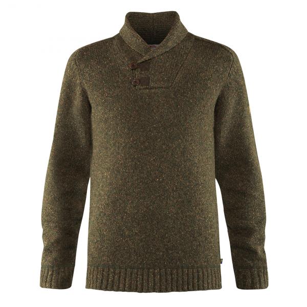 Fjallraven Lada Sweater Dark Olive