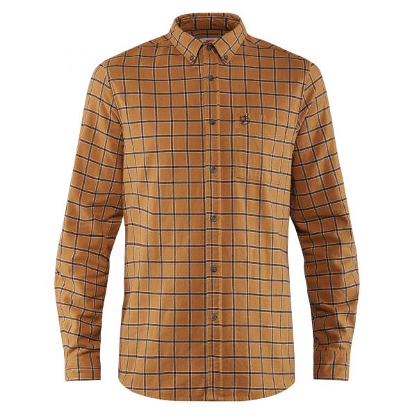 Fjallraven Ovik Flannel Shirt Acorn