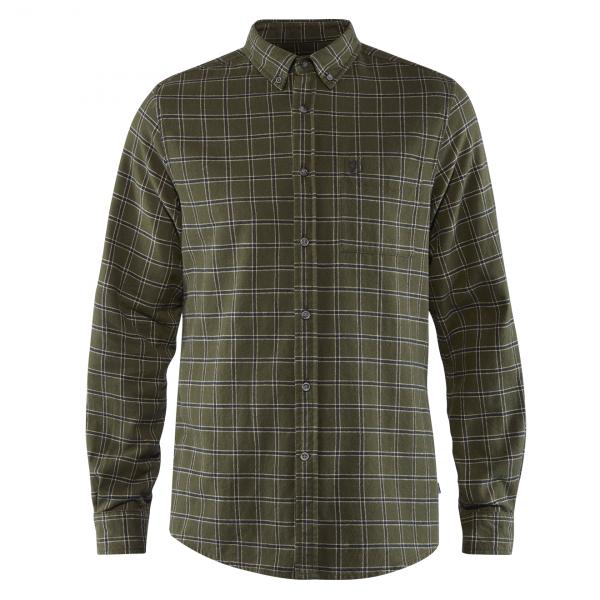 Fjallraven Ovik Flannel Shirt Deep Forest