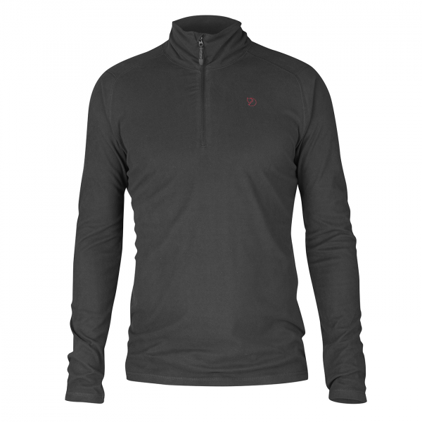 Fjallraven Pine Half Zip Fleece Dark Grey