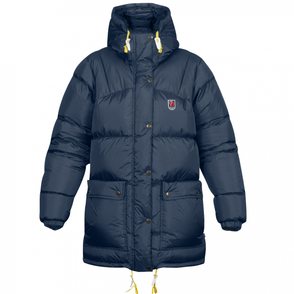 Fjallraven Womens Expedition Down Jacket Navy