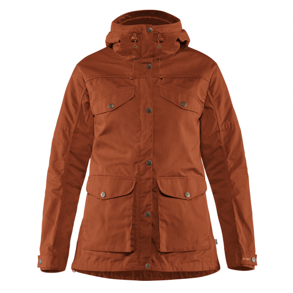 Fjallraven Womens Vidda Pro Jacket Autumn Leaf