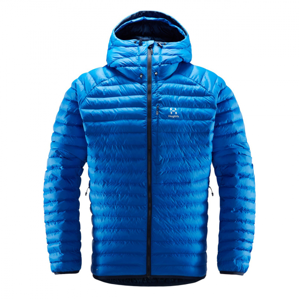 Haglofs Essens Mimic Hood Jacket Storm Blue / Tarn Blue