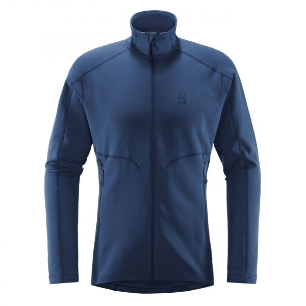 Haglofs Heron Jacket Sweat Tarn Blue