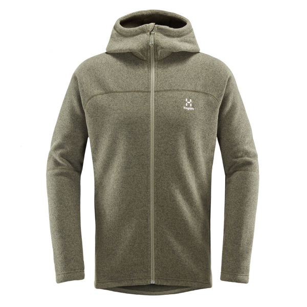 Haglofs Swook Hooded Fleece Deep Woods
