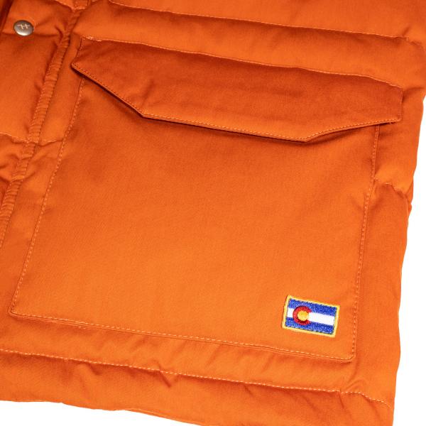 Holubar Colorado Jacket Dark Orange