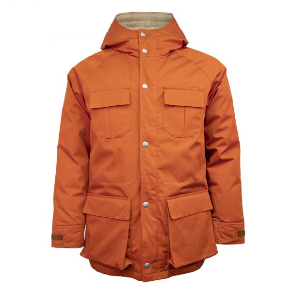Holubar Deer Hunter Down Fill Jacket Dark Orange