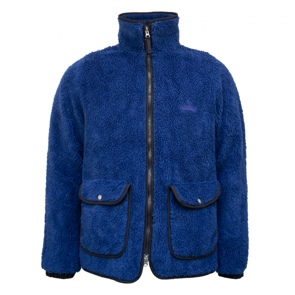 Holubar Farm Fleece Jacket Dark Blue