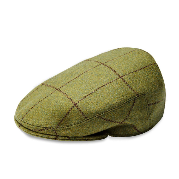 James Purdey Short Peak Tweed Waterproof Cap Howeskye