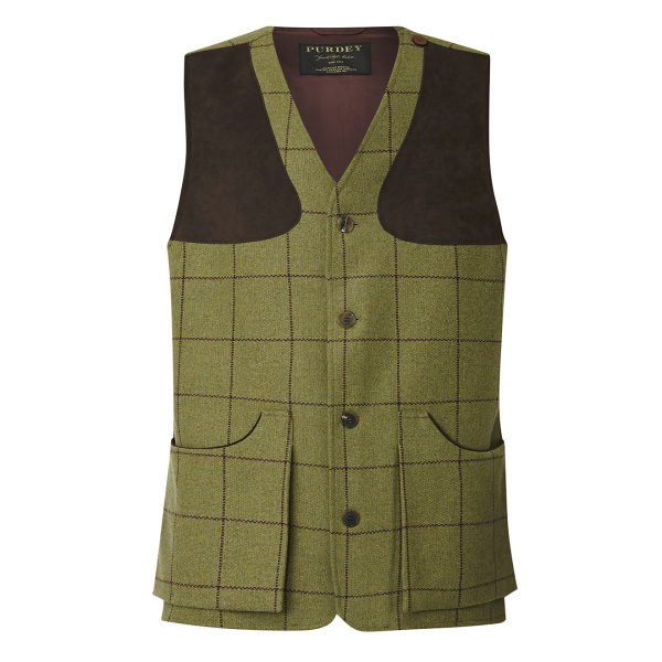 James Purdey Tweed Shooting Vest Howeskye