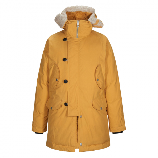 Nigel Cabourn x Peak Performance Mountain Down Parka Survival Yellow
