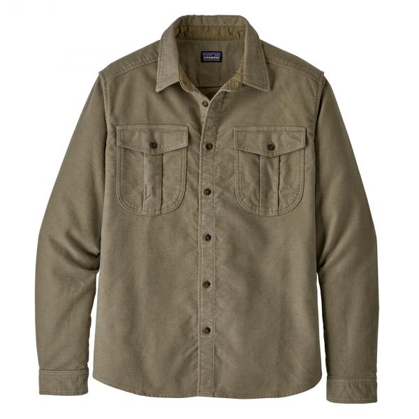 Patagonia Topo Canyon Moleskin Shirt Sage Khaki
