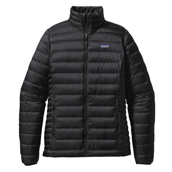 Patagonia Womens Down Sweater Jacket Black