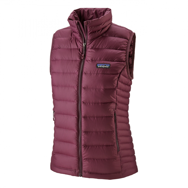 Patagonia Womens Down Sweater Vest Light Balsamic