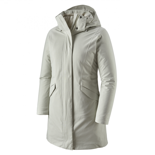 Patagonia Womens Vosque 3-in-1 Parka Dyno White