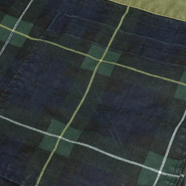 Polo Ralph Lauren Patchwork Canvas Jacket Green Camo