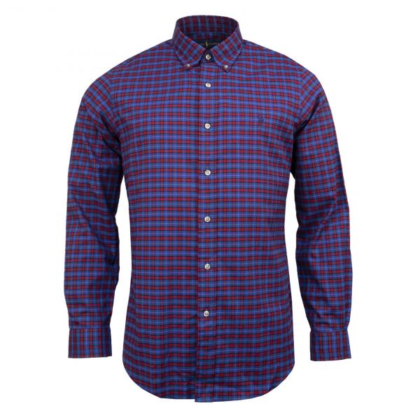 Polo Ralph Lauren Small Check Shirt Blue Multi