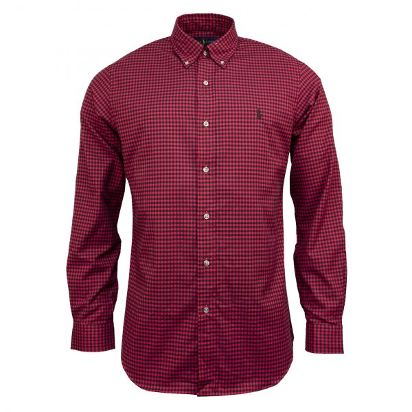 Polo Ralph Lauren Small Check Shirt Red Multi