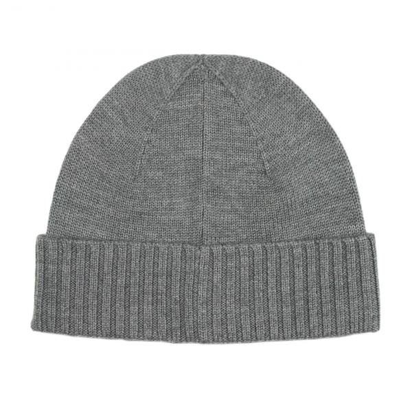 Polo Ralph Lauren Wool Signature Pony Beanie Hat Grey