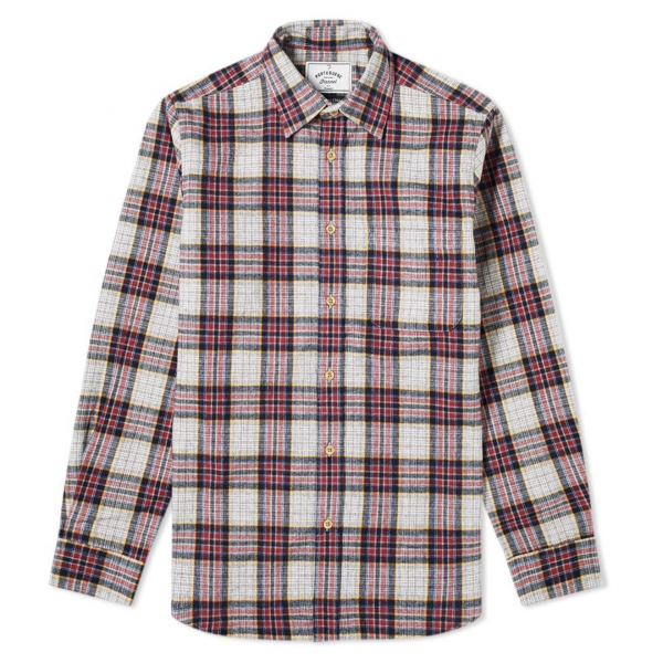 Portuguese Flannel Bavaric Check Shirt Red / Grey