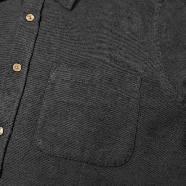 Portuguese Flannel Teca Espe Shirt Grey