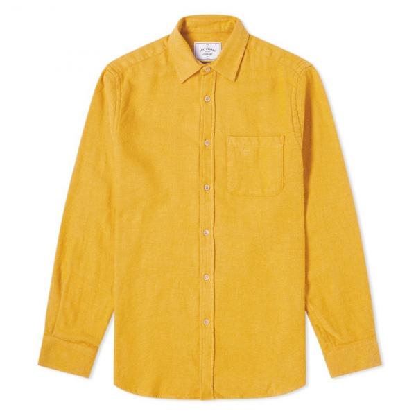 Portuguese Flannel Teca Shirt Mustard