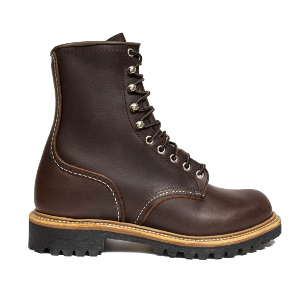 "Red Wing 8"" Logger Boot Briar Oil Slick"