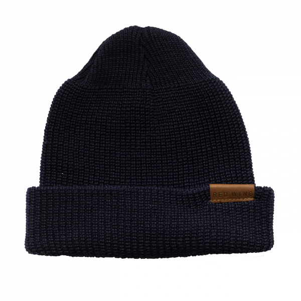 Red Wing Beanie Hat Navy