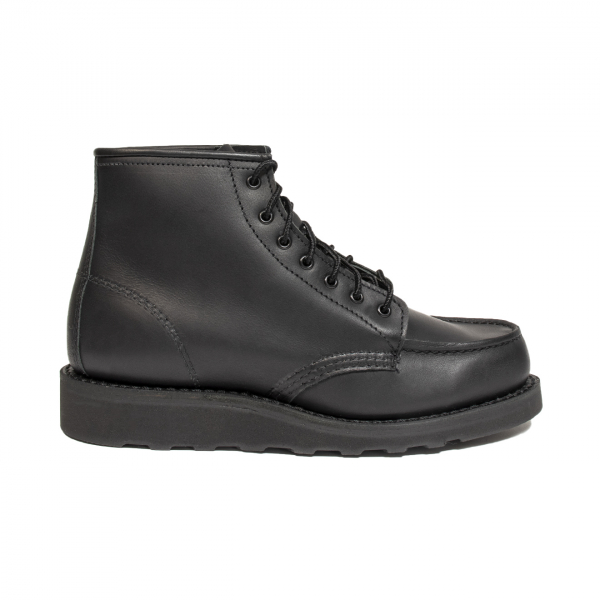 "Red Wing Womens 6"" Classic Moc Black Boundary"