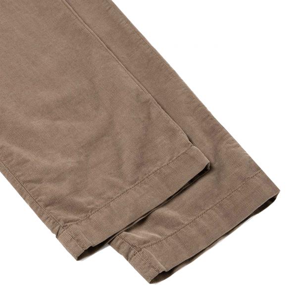 Sunspel Drawstring Cord Trousers Dark Stone