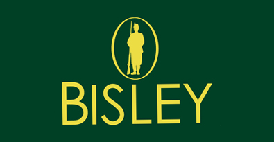 Bisley Yellow on Green Logo