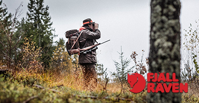 Forest Hunting With Fjallraven Backpacks, Shooting Jacket & Hat