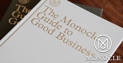 The Monocle Guide to Good Business Linen Hardcover Version & the Deluxe Limited-Edition