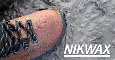 Walking Boot Protected with Nikwax Waterproofing Product