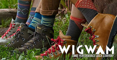 Hikers Wearing Wigwam's Premium Boot Socks