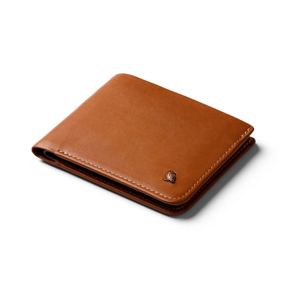 Bellroy Hide and Seek Hi Wallet Caramel - RFID